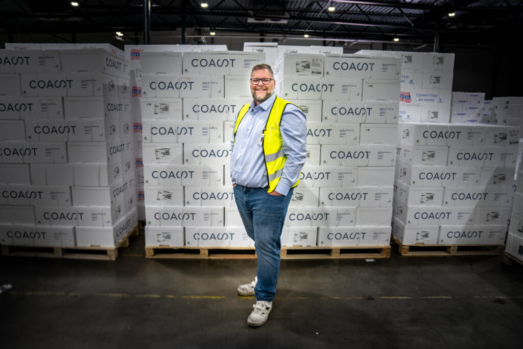 Coast Seafood were one of the pilot customers in the development of Maritech Supply Chain