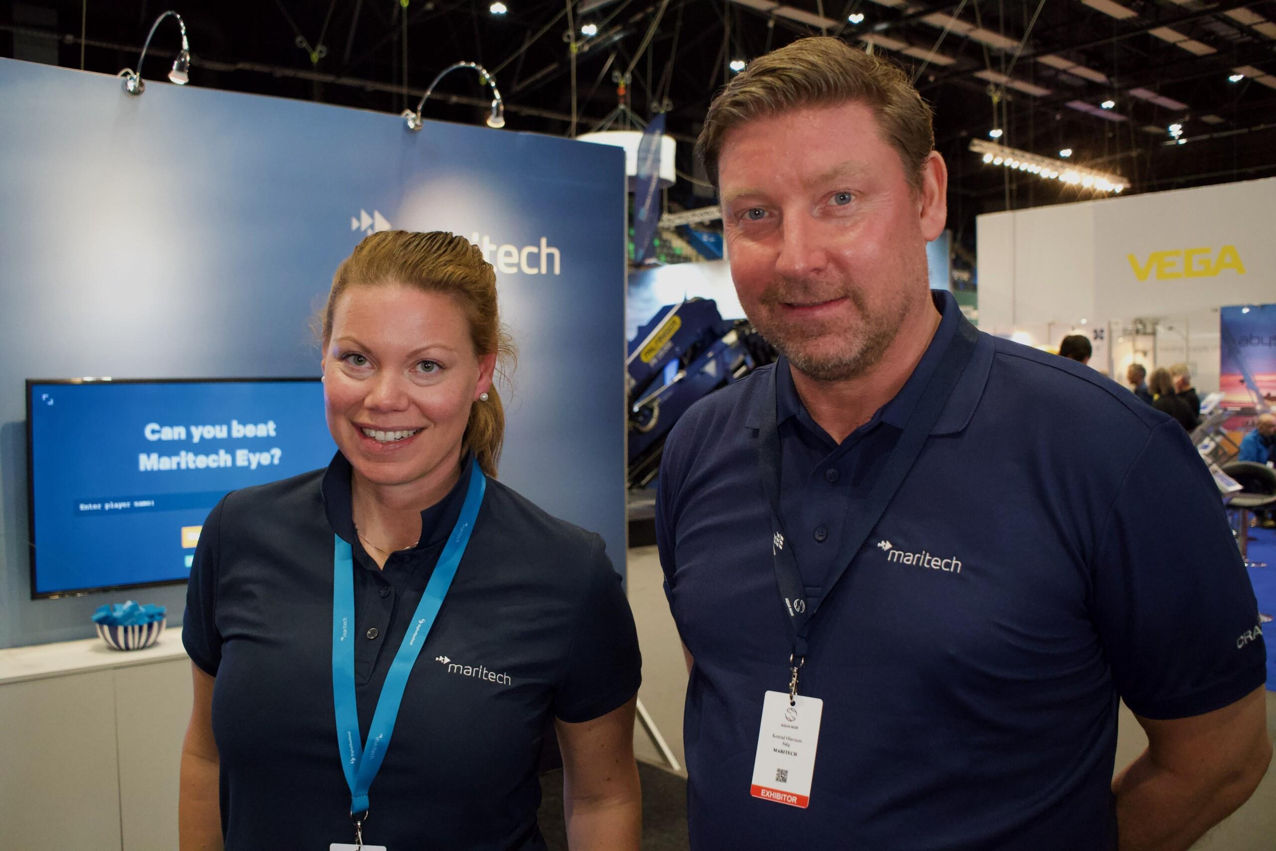 Christine Møller-Christensen and Konrad H. Olavsson, Maritech